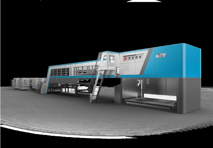 單層自動疊紙機(油壓式)DSK-3S-後端