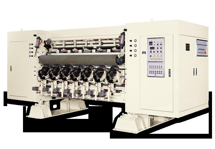 電腦式單刀分紙壓線機 - RRLB—6SV